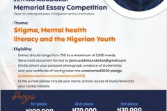 JAME ESSAY COMPETITION 2021