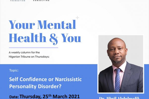 SELF CONFIDENCE OR NARCISSISTIC PERSONALITY DISORDER?