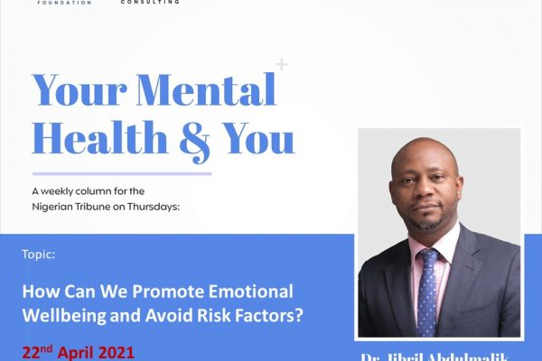 How Can We Promote Emotional Wellbeing and Avoid Risk Factors?
