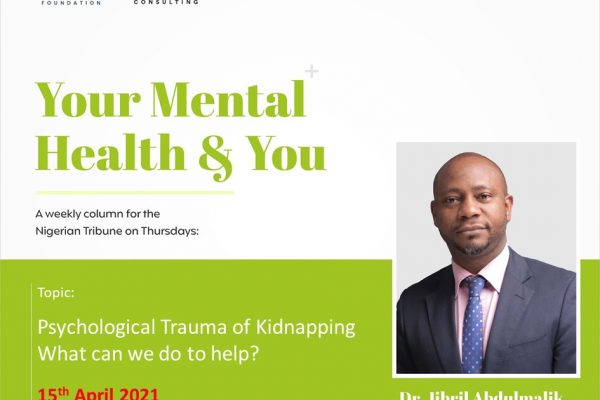 Psychological trauma of kidnapping: What can we do to help?